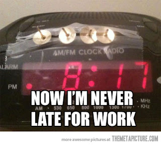 Image result for funny alarm clock